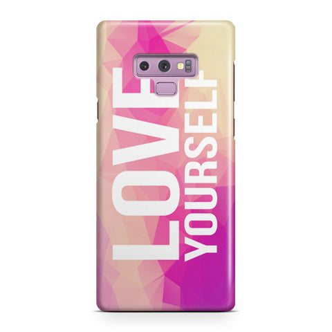 Be Yourself Quote Samsung Galaxy Note 9 Case