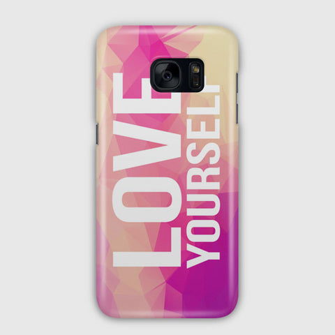 Be Yourself Quote Samsung Galaxy S7 Edge Case