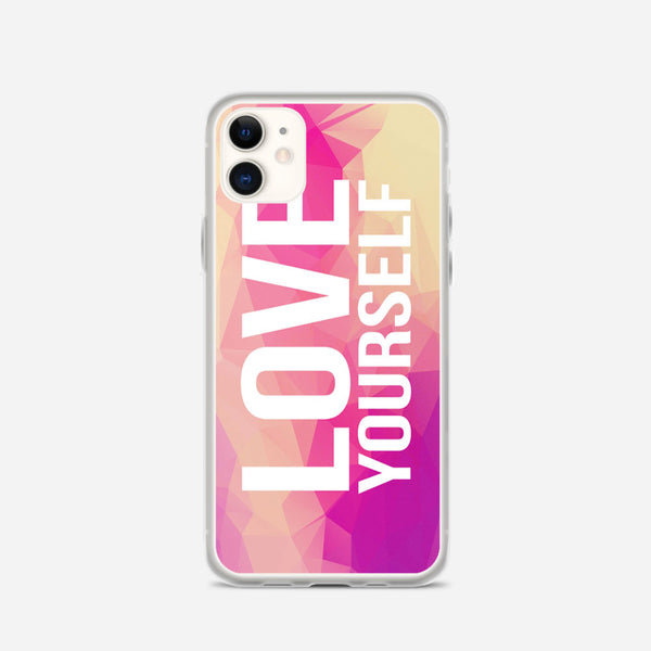 Be Yourself Quote iPhone X Case