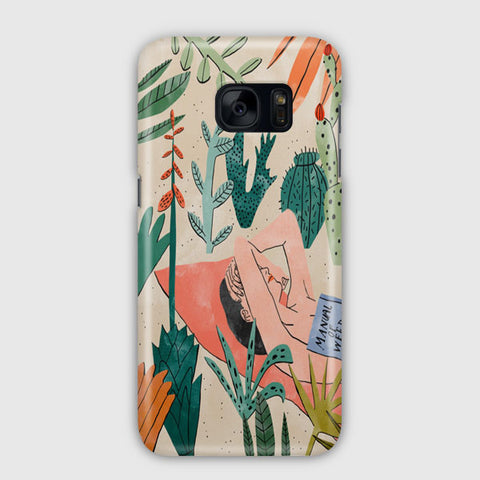 Beach Girl Samsung Galaxy S7 Case