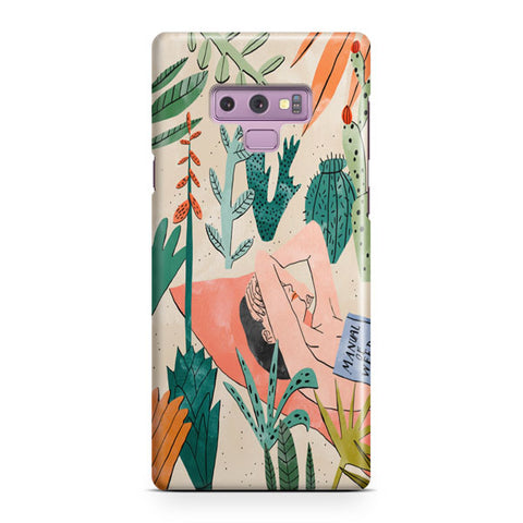 Beach Girl Samsung Galaxy Note 9 Case