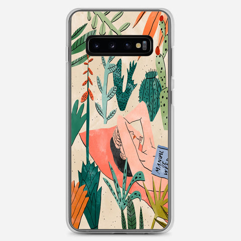Beach Girl Samsung Galaxy S10 Plus Case
