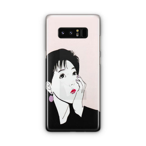 The Thinking Lady Samsung Galaxy Note 8 Case