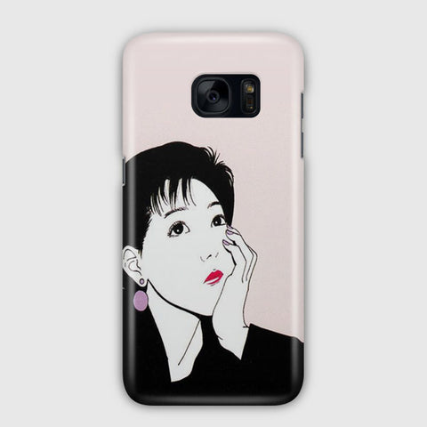 The Thinking Lady Samsung Galaxy S7 Edge Case