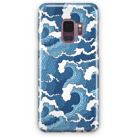 The Wave Japanese Artwork Samsung Galaxy S9 Case