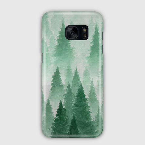 Trees Shockproof Forest Samsung Galaxy S7 Edge Case
