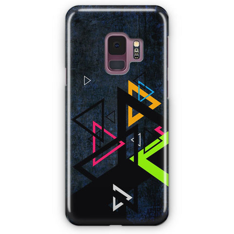Triangel Abstract Colored Samsung Galaxy S9 Case