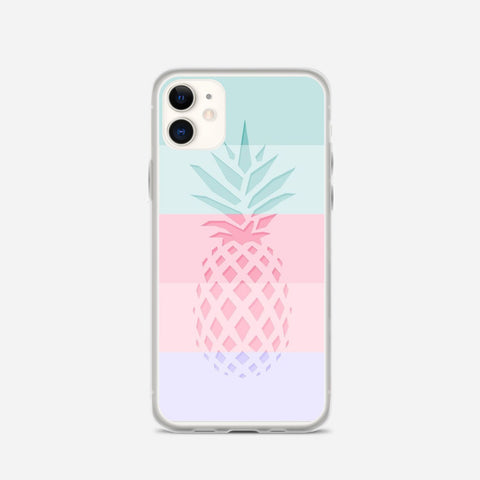 Pineapple Line iPhone 11 Case