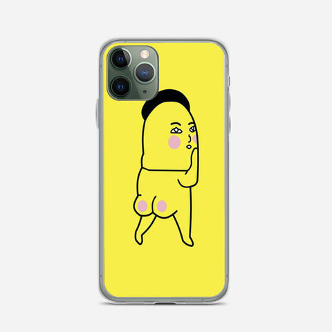 Pink Fart Fart Yellow iPhone 11 Pro Case