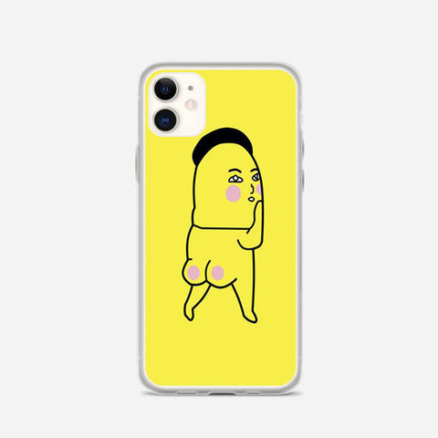 Pink Fart Fart Yellow iPhone 11 Case