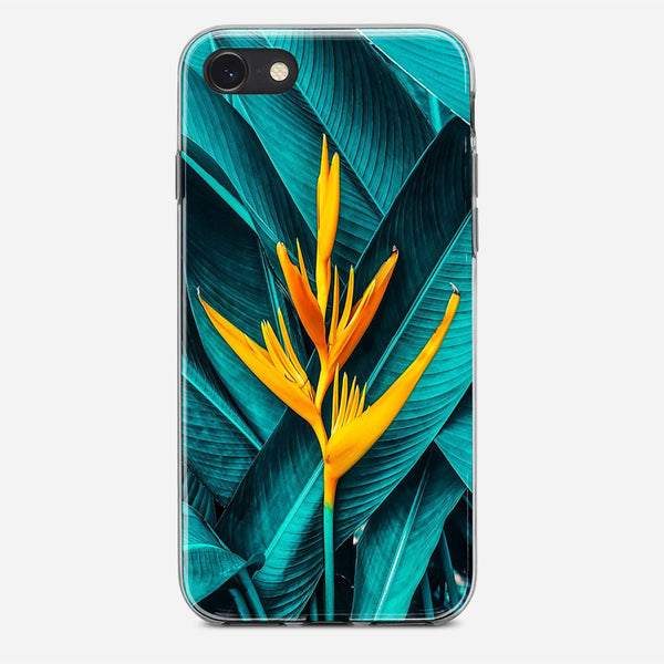 Tropical Foliage And Flowers iPhone X Case