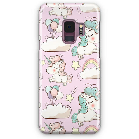 Unicorn Artwork Pattern Samsung Galaxy S9 Case