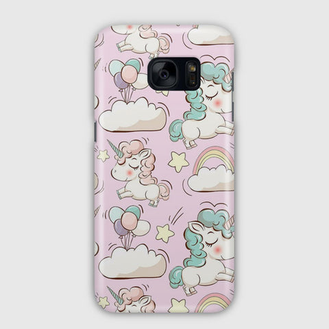 Unicorn Artwork Pattern Samsung Galaxy S7 Edge Case