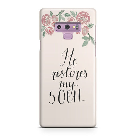Beautiful Flowers Around Samsung Galaxy Note 9 Case