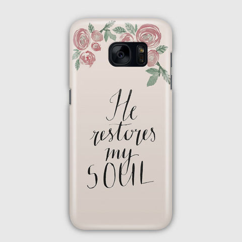Beautiful Flowers Around Samsung Galaxy S7 Case