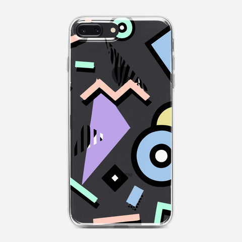 80S Pattern Vaporwave iPhone 7 Plus Case
