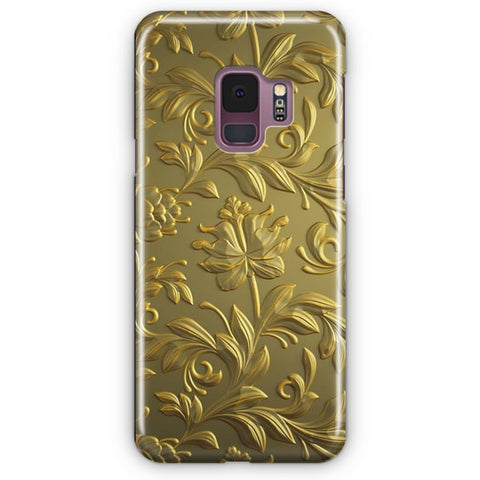 Veneto Gold Pattern Samsung Galaxy S9 Case