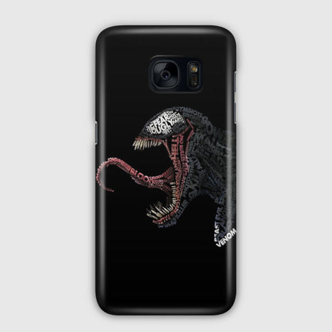 Venom Artwork Samsung Galaxy S7 Edge Case