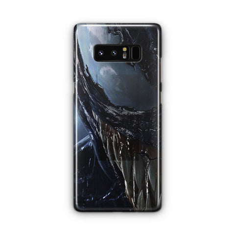 Venom Face Artwork Samsung Galaxy Note 8 Case