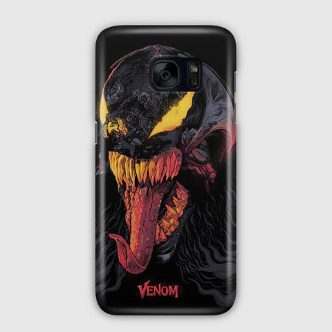 Venom Illustration Samsung Galaxy S7 Edge Case