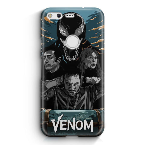 Venom Poster Artwork Google Pixel Case