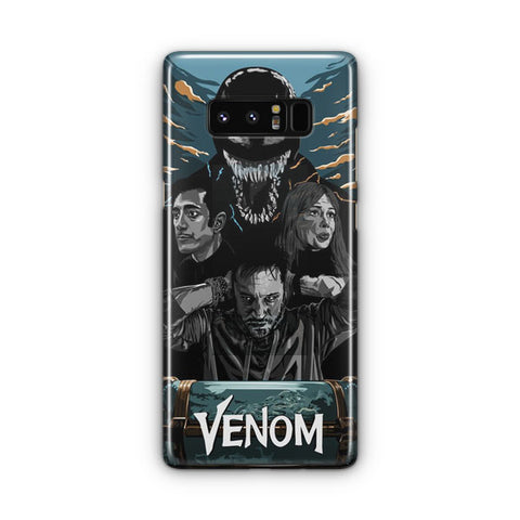 Venom Poster Artwork Samsung Galaxy Note 8 Case