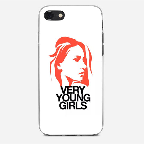 Very Young Girl iPhone 8 Case