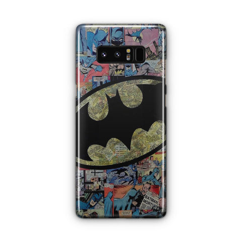 Vintage Batman Logo Samsung Galaxy Note 8 Case