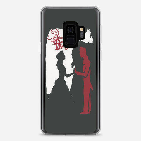 Beauty and the Beast Silhouette Samsung Galaxy S9 Case