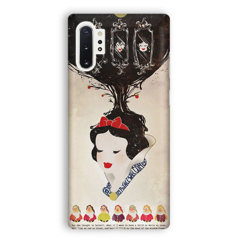 Vintage Disney Snow White Poster Samsung Galaxy Note 10 Plus Case