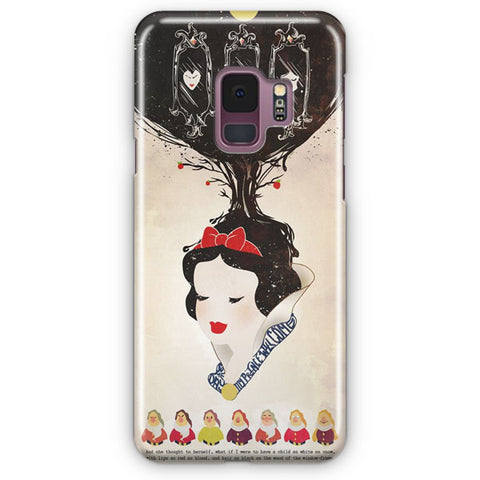 Vintage Disney Snow White Poster Samsung Galaxy S9 Case