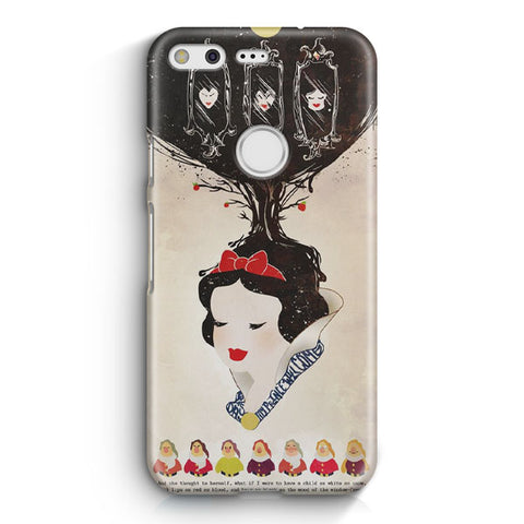 Vintage Disney Snow White Poster Google Pixel 3 XL Case