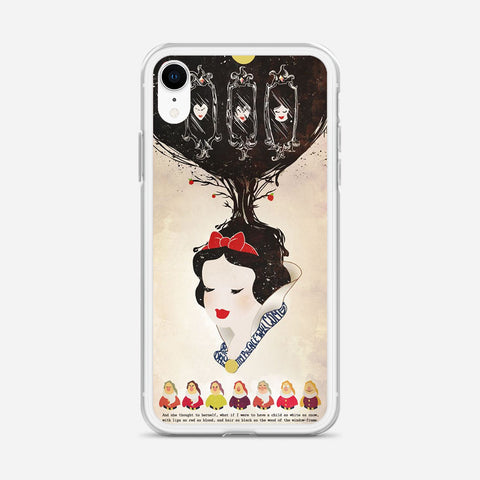 Vintage Disney Snow White Poster iPhone XR Case