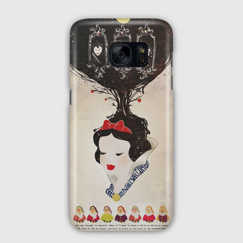 Vintage Disney Snow White Poster Samsung Galaxy S7 Case