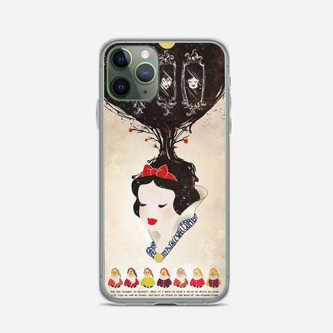 Vintage Disney Snow White Poster iPhone 11 Pro Max Case