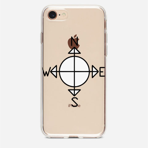Simple Compass iPhone 8 Case