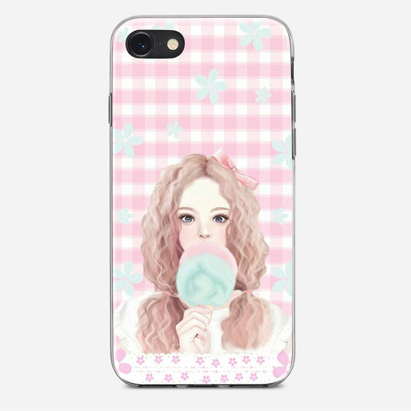 Vintage Girl Design iPhone X Case