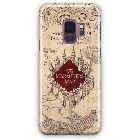 Vintage Harry Potter Map Samsung Galaxy S9 Case