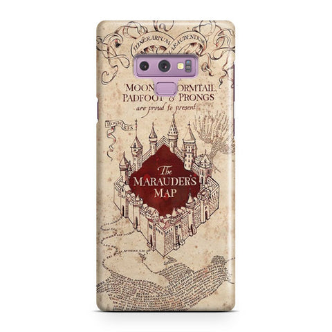 Vintage Harry Potter Map Samsung Galaxy Note 9 Case