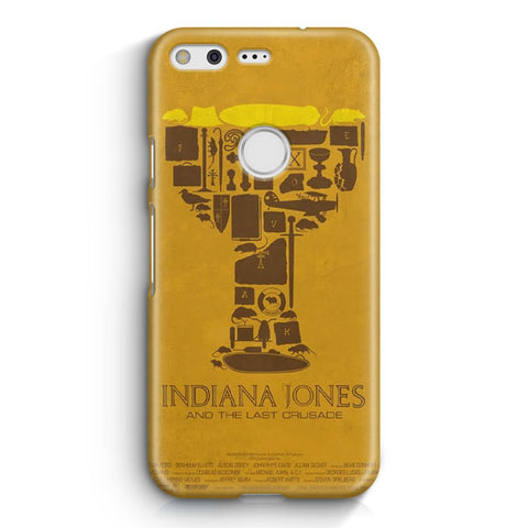Vintage Indiana Jones Poster Google Pixel Case