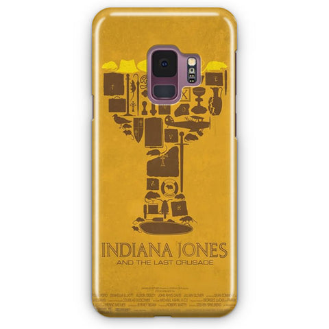 Vintage Indiana Jones Poster Samsung Galaxy S9 Case