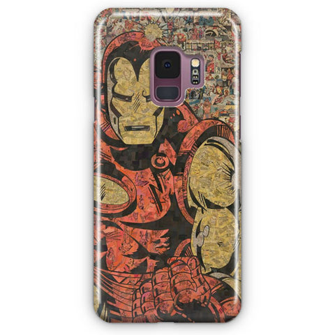 Vintage Iron Man Samsung Galaxy S9 Case