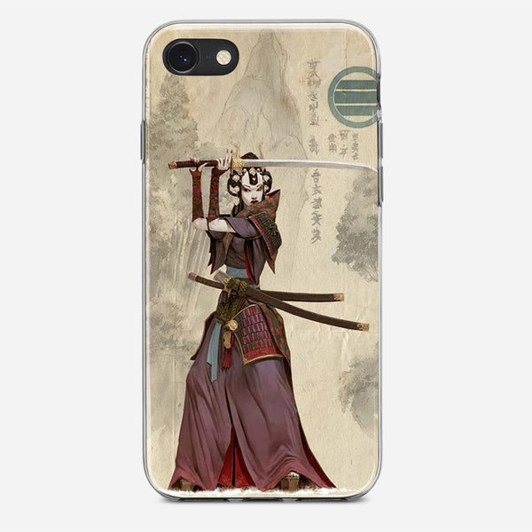Vintage Japanese Samurai iPhone X Case