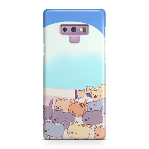 Bee And Puppycat Samsung Galaxy Note 9 Case