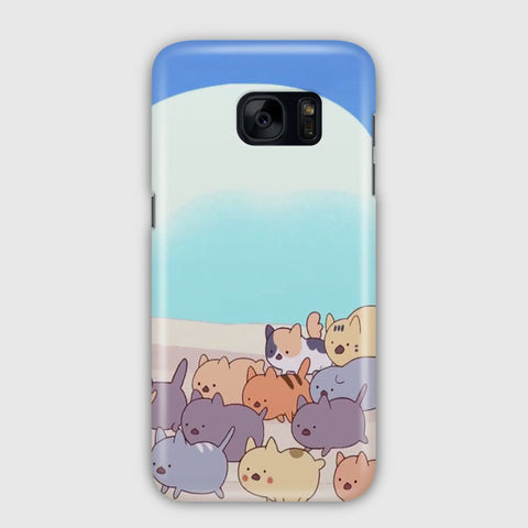 Bee And Puppycat Samsung Galaxy S7 Edge Case