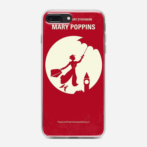 Vintage Mary Poppins Poster iPhone 8 Plus Case