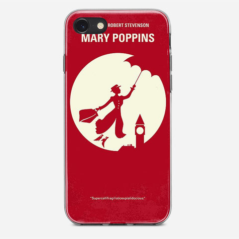 Vintage Mary Poppins Poster iPhone 8 Case
