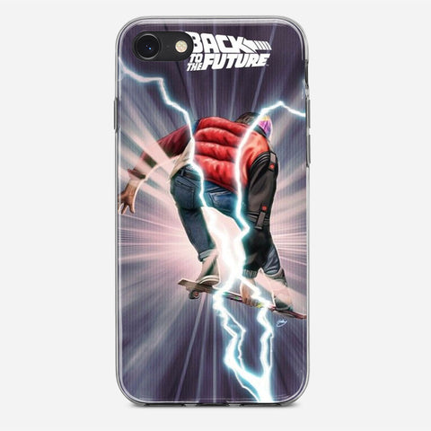 Vintage Movie Back To The Future iPhone 8 Case