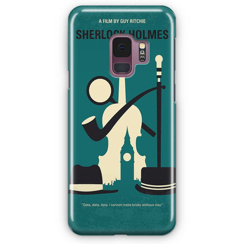 Vintage Movie Sherlock Holmes Samsung Galaxy S9 Case