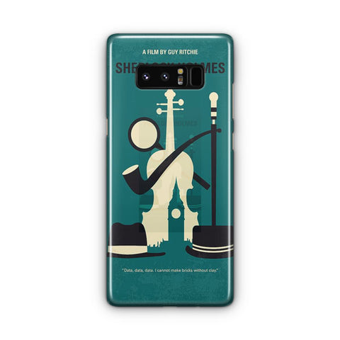 Vintage Movie Sherlock Holmes Samsung Galaxy Note 8 Case